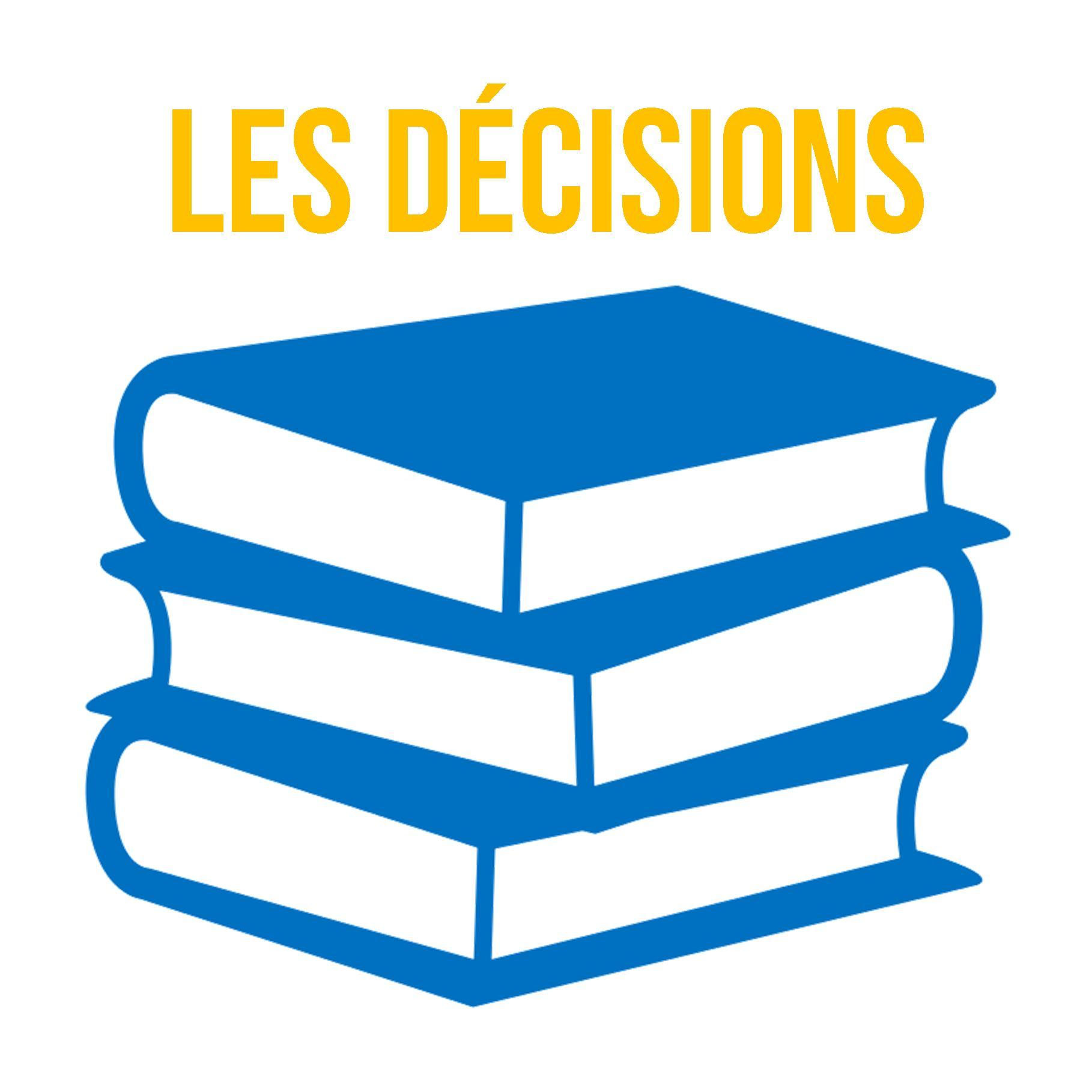 Comptes-rendus de décisions
